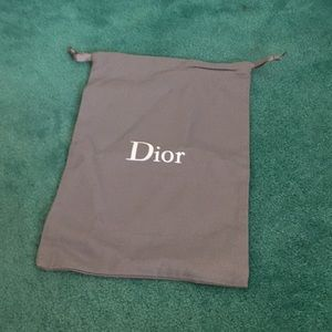 Small Dior Dust Bag